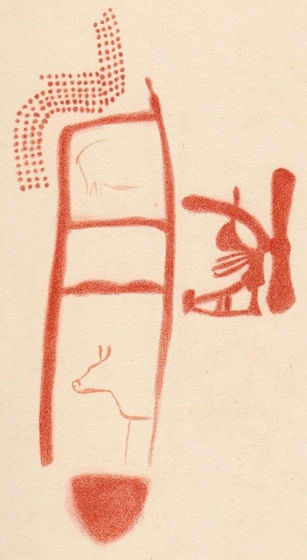Невероятная пещерная живопись неандертальцев, созданная 64 000 лет назад