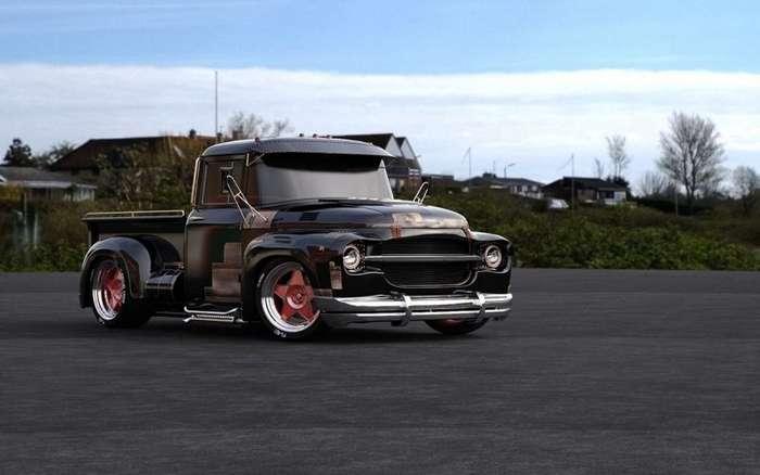 Фантазии на тему пикапа из грузовика ЗиЛ-130-15 фото-