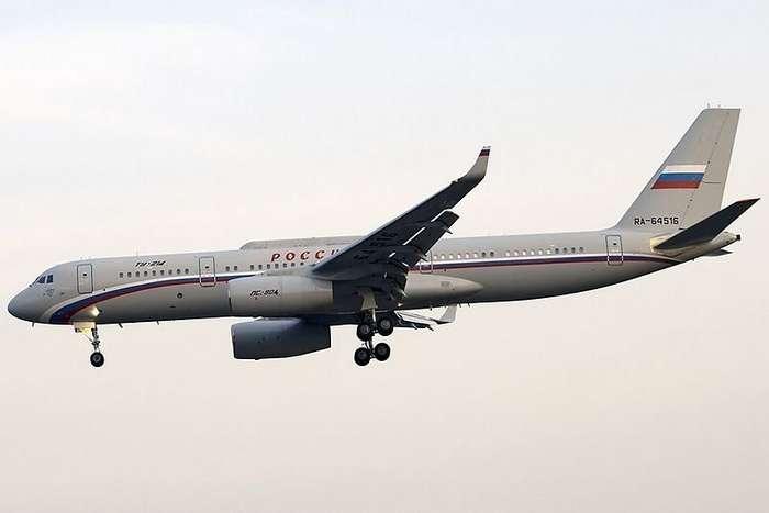 Самолет-ретранслятор Президента России-2 фото-