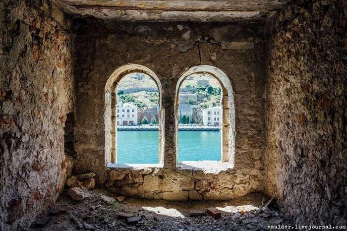 Бывший закрытый секретный военный городок Балаклава. Часть 1-34 фото-