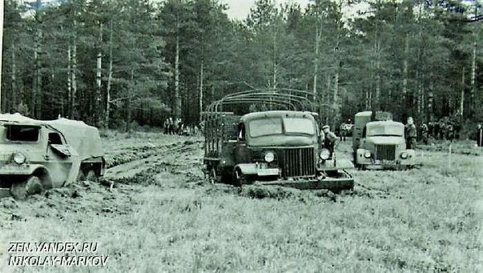 Большие гонки 1956 года: чем круче джип-23 фото-