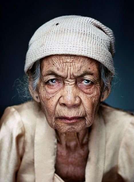 Лица с отпечатками времени-31 фото-