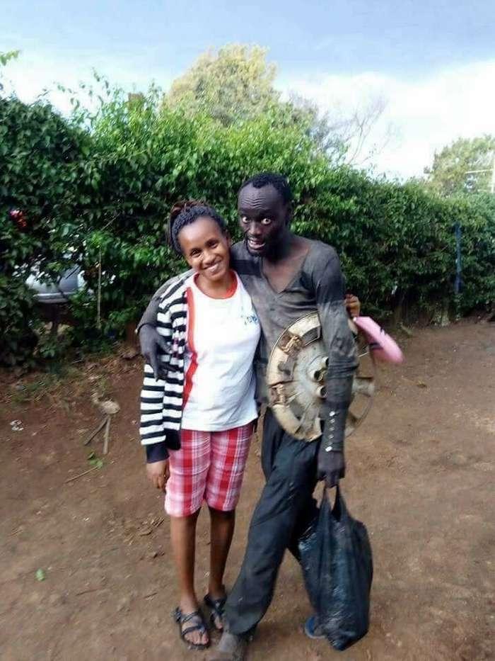 На улице женщину окликнул бездомный, в котором она узнала друга детства-13 фото-