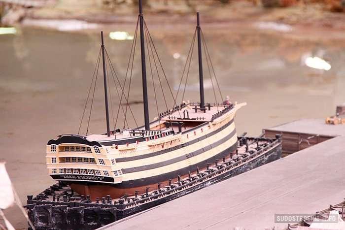 История петровского флота в масштабе 1:87-28 фото-
