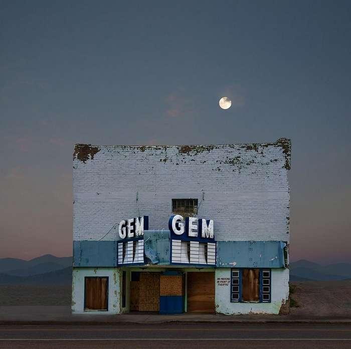 Остановившаяся жизнь вдоль маленьких просёлочных дорог западной Америки-28 фото-