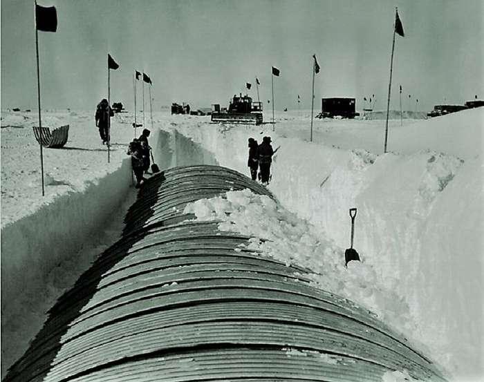 Проект -Ледяной червь-: как американцы попытались построить в Гренландии подледный город-42 фото-