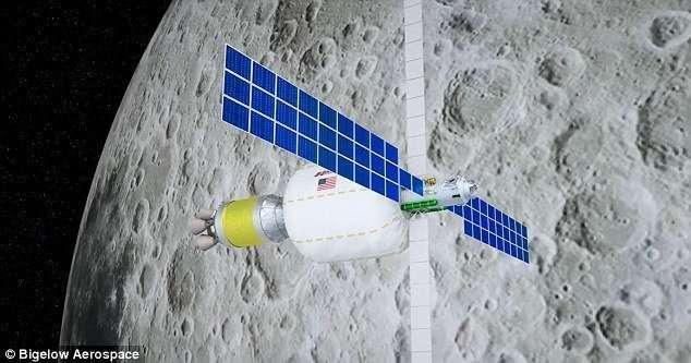 Через три года в космосе заработает первая гостиница-5 фото-