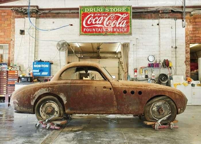Груда железа оказалась редким довоенным гоночным BMW-11 фото-
