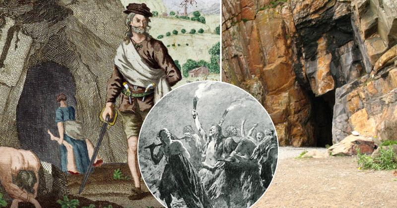 История шотландского клана людоедов-5 фото-