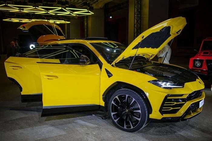 Седьмое чувство. В Москве прошла премьера Lamborghini Urus-12 фото-