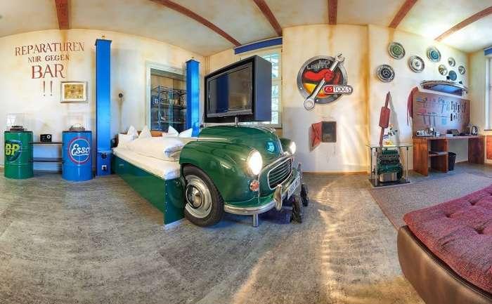 Отель мечты или 650 евро за ночь в Мерседесе-20 фото-