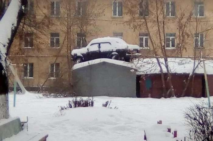 Подборка автомобильных приколов-21 фото-