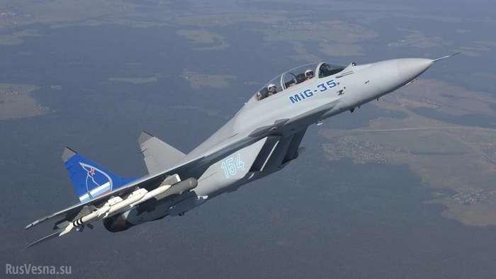 Завершены заводские испытания нового многоцелевого истребителя МиГ-35-8 фото-