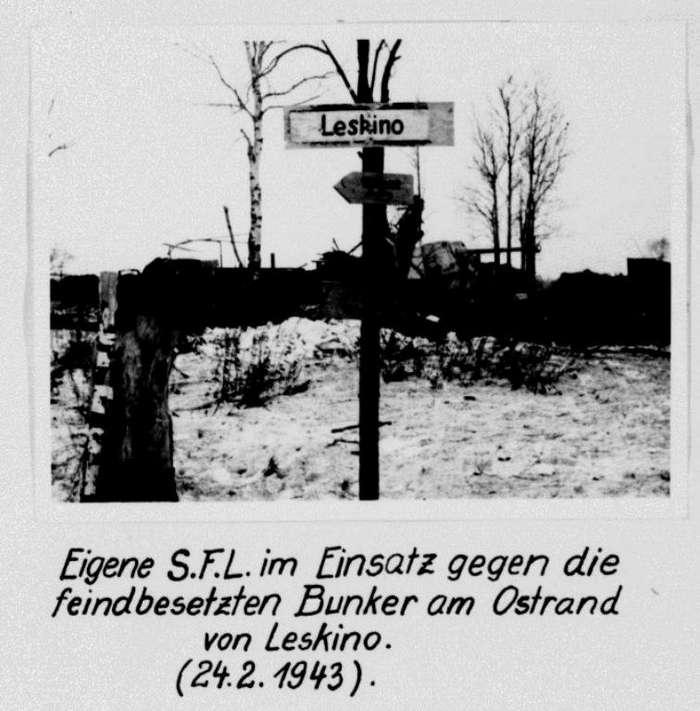 75 лет подвигу гвардейцев-лыжников в Лескино-9 фото-