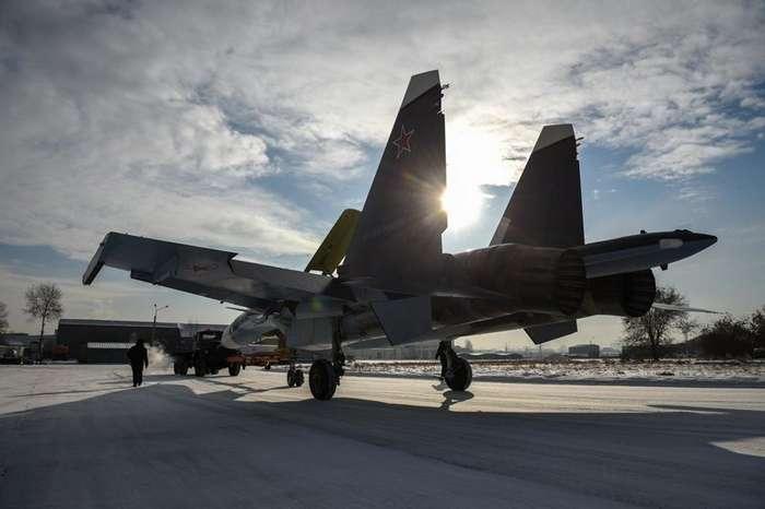 Морские Су-30СМ из Сибири: кадры новых самолетов для ВМФ-12 фото-