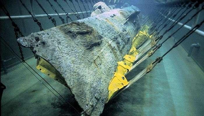 17 февраля 1864 года первое боевое применение подводной лодки-10 фото-