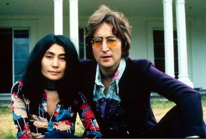 Она разрушила The Beatles. История любви Джона Леннона и Йоко Оно-12 фото-