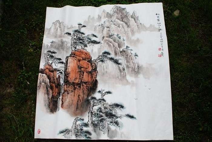 Выставка бонсай в парке Ченду!-28 фото-