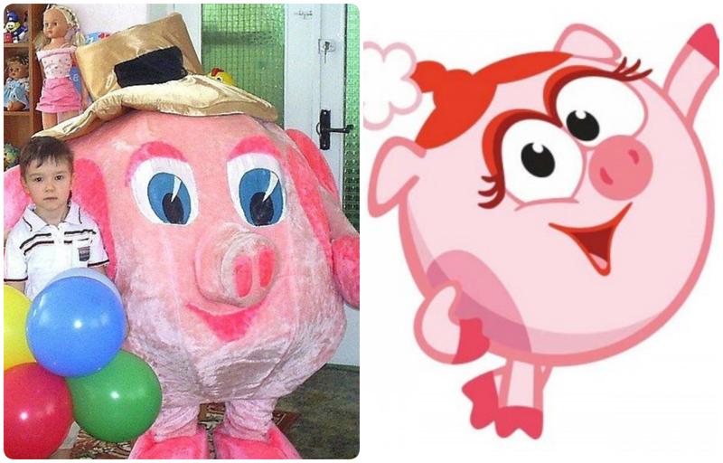 Кем пугают на детских праздниках: ростовые куклы из кошмаров-14 фото-