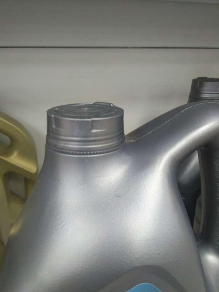 Поддельное масло Mobil на заправке Роснефть-7 фото-