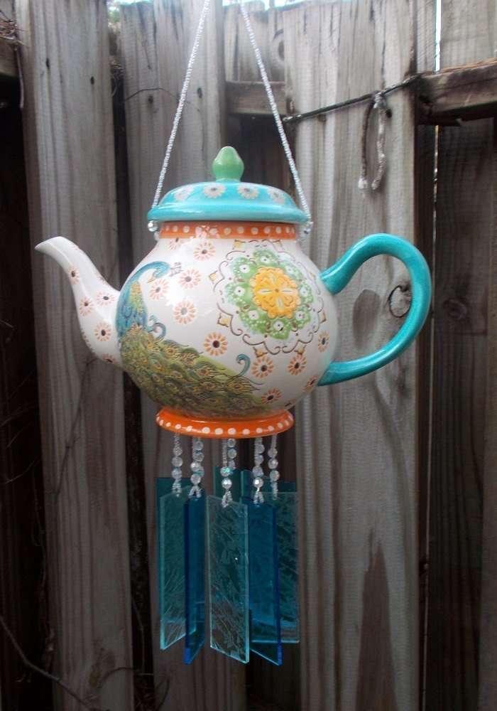 Старый чайник поделки 11