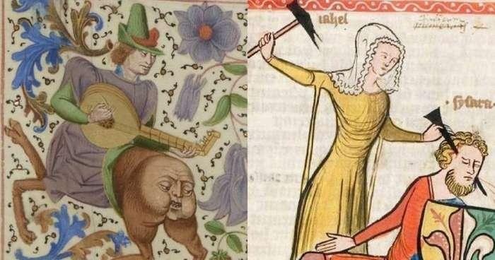 Почему Средневековье страдает? Загадки средневековых мемов-11 фото + 1 гиф-