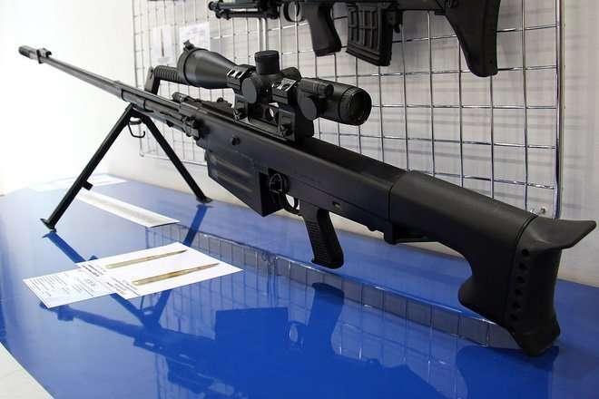 Во Вьетнаме началось производство российской крупнокалиберной снайперской винтовки ОСВ-96-5 фото-