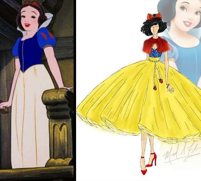 Модельер изАмерики сделал коллекцию новых платьев для принцесс Диснея, иони получились круче, чем оригиналы
