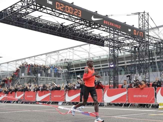 Nike обещает $1млн спортсмену, который преодолеет человеческие возможности, ивесь мир наблюдает заэтой историей, затаив дыхание