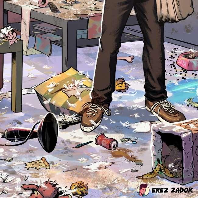 Художник изИзраиля показал всю правду ожизни ссобаками