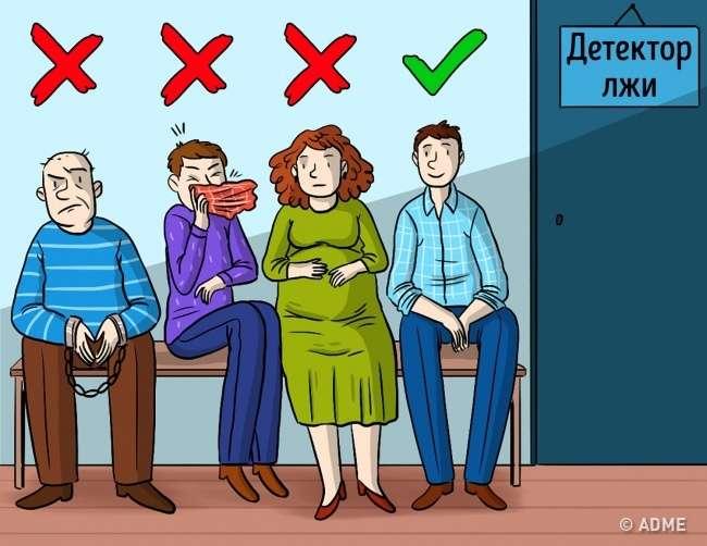 Как незавалить тест надетекторе лжи, если оночень важен для вас