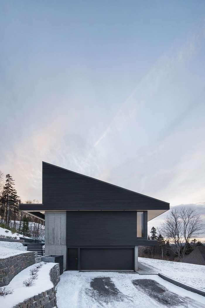 Интерьер и экстерьер виллы на горнолыжном курорте Канады