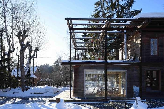 Необычный дом в Подмосковье
