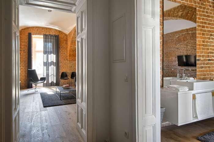 Дизайн квартиры футболиста в Словении