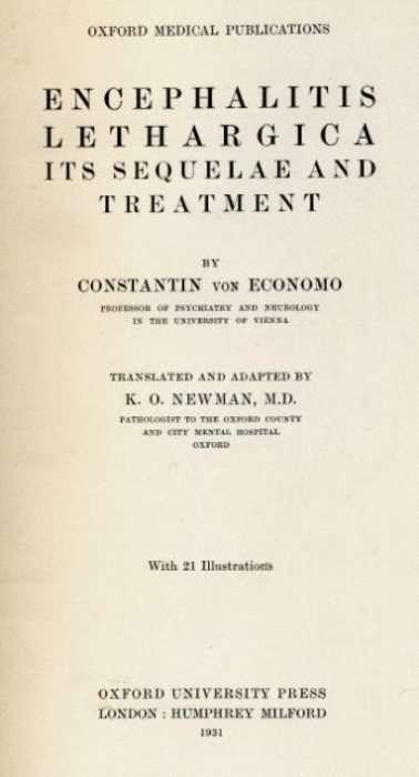 Сонная болезнь &8211; таинственный недуг в истории медицины