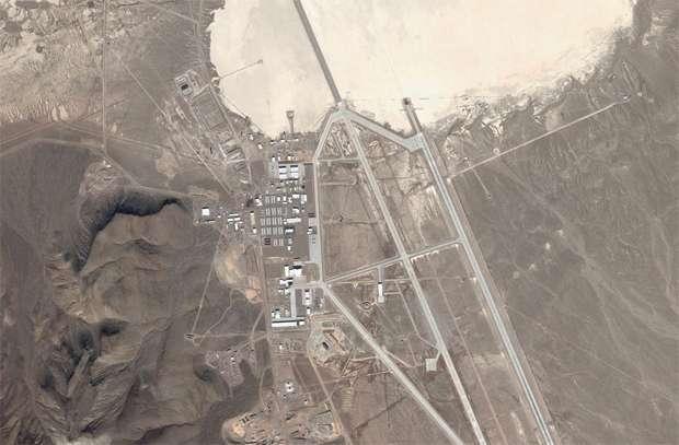 -Зона 51- — бермудский треугольник невадской пустыни