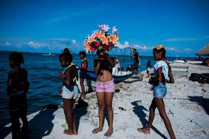 Жизнь на крошечном острове