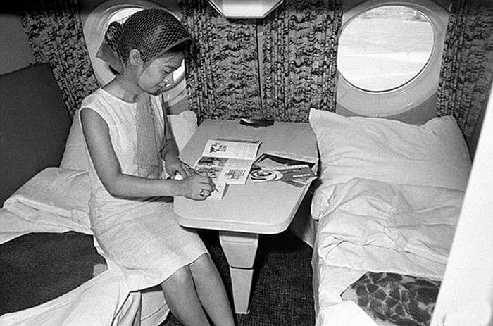 Первый класс -Аэрофлота- времен СССР