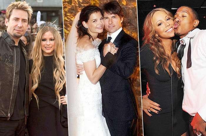 Знаменитости, которые слишком быстро сыграли свадьбу