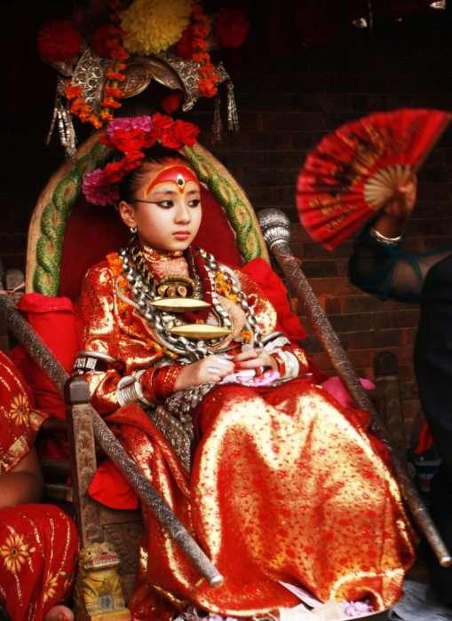 Кумари &8211; земные богини в Непале