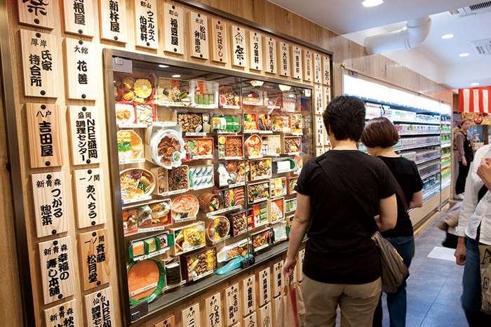 Фастфуд на вокзале в Токио