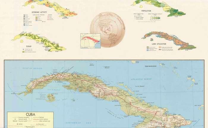 Тайные карты ЦРУ XX века