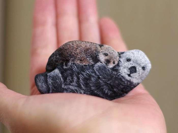 В руках этой японской художницы камни оживают