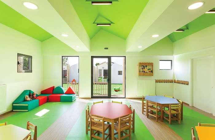 Греческий детский сад