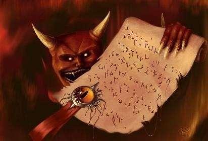 -Душу на кон-, или кто из великих людей заключил сделку с Сатаной?