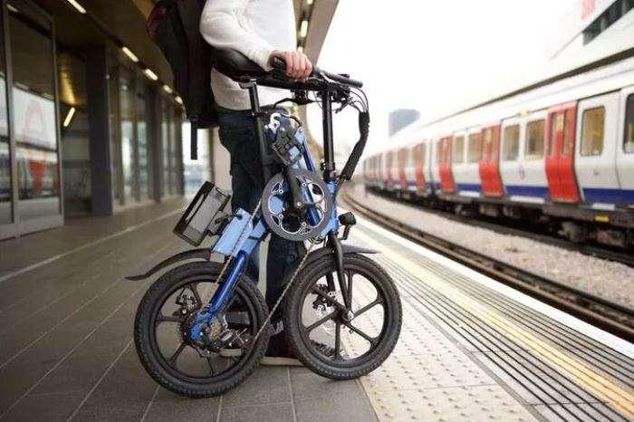 Суперкомпактный складной велосипед, который заменит автомобиль в городе