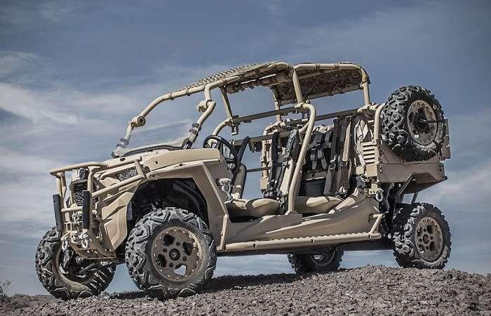 Внедорожник Polaris MRZR X - машина-конструктор, которая управляется со смартфона и не нуждается в водителе