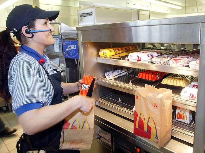 Откровения сотрудников, или Почему нужно всегда просить чек на кассе в -Макдональдс-