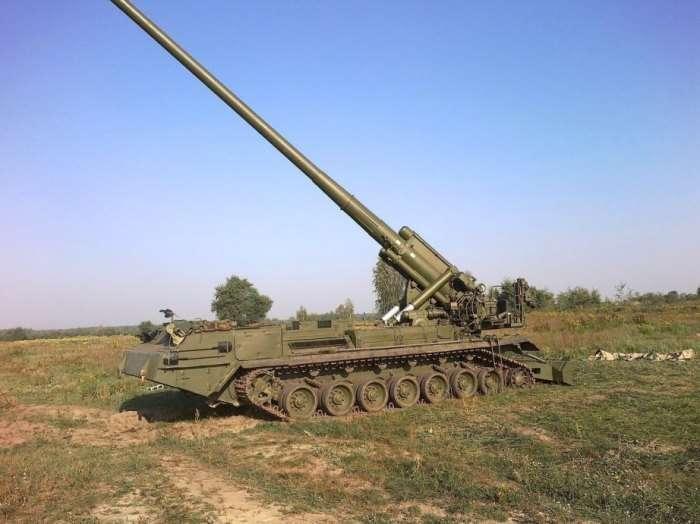 Советская ядерная пушка -Пион- после значительной модернизации получила вторую жизнь