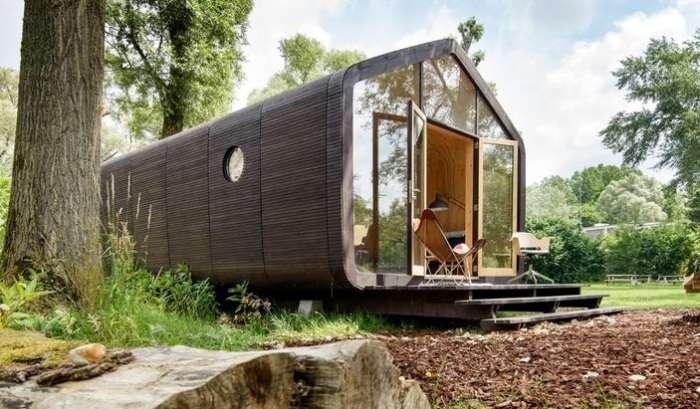 Картонный дом, который не боится холода и дождя и собирается за 1 день